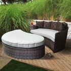 Duran Deluxe Patio Daybed with Cushions