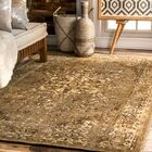 Loch Hand-Woven Beige Area Rug Rug Size: Rectangle 5' x 8'