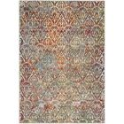 Ragland Modern Teal Area Rug Rug Size: Rectangle 5'3
