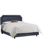 Watkinsville Upholstered Panel Bed Size: California King, Color: Regal Ocean