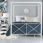 Gilma Canopy Bed Color: White, Size: Full