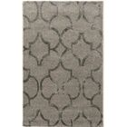 Leone Hand-Tufted Gray Area Rug Rug Size: Rectangle 5' x 8'