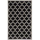 Maritza Black/Gray Indoor/Outdoor Area Rug Rug Size: Rectangle 6' x 9'