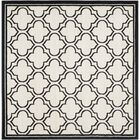 Maritza Ivory/Anthracite Outdoor Area Rug Rug Size: Square 7'