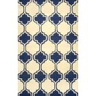 Bornival Navy Area Rug Rug Size: Rectangle 7'6