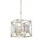 Rish 4-Light Square/Rectangle Chandelier