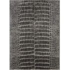 Ruthann Charcoal Area Rug Rug Size: Rectangle 7'10