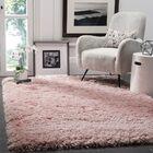 Hermina Light Pink Area Rug Rug Size: Rectangle 3' x 5'