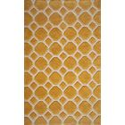Chance Hand-Tufted Gold Area Rug Rug Size: Rectangle 5' x 7'6