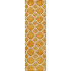 Chance Hand-Tufted Gold Area Rug Rug Size: Runner 2'3