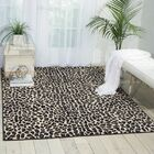 Colletta Ivory/Black Area Rug Rug Size: Rectangle 7'10