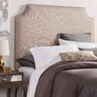 Rosalie Velvet Corded Upholstered Headboard Size: Queen