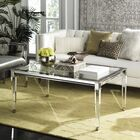 Raya Coffee Table Color: Silver