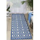 Beaconsfield Ivory/Blue Area Rug Rug Size: Runner 2'2