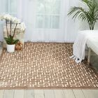 Blondelle Ivory/Mocha Area Rug Rug Size: Rectangle 7'6
