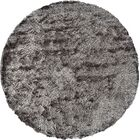 Danae Hand-Tufted Gray Area Rug Rug Size: Round 8'