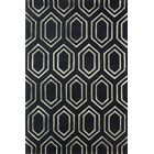 Graceland Hand-Tufted Midnight Navy Area Rug Rug Size: Rectangle 8' x 10'