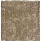 Maya Hand-Tufted/Hand-Hooked Brown Area Rug Rug Size: Square 5'