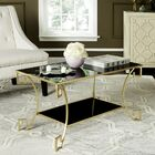 Ondina Woodsetter Coffee Table Color: Antique Silver