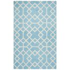 Pero Hand-Tufted Blue Area Rug Rug Size: Rectangle 5' x 8'