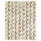 Gladwin Cream/Brown Area Rug Rug Size: Rectangle 10' x 13'2