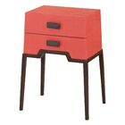 Rittenberry End Table Color: Coral
