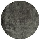 Montpelier Hand-Tufted/Hand-Hooked Titanium Area Rug Rug Size: Round 7'