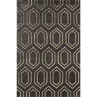 Graceland Hand-Tufted Brown/Ivory Area Rug Rug Size: Rectangle 5' x 8'