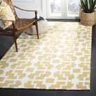 Mountain Gold/Ivory Area Rug Rug Size: Rectangle 5' x 8'