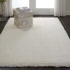 Dalrymple Solid Ivory Area Rug Rug Size: Rectangle 4' x 6'