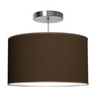 Thao 1-Light Pendant Shade Color: Chocolate, Size: 12