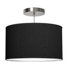 Thao 1-Light Pendant Shade Color: Ebony, Size: 12