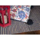 Anders Hand Woven Wool Blue Area Rug Rug Size: 6'6