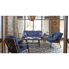 5 Piece Sunbrella Sofa Set with Cushions