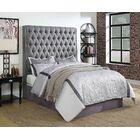 Jarratt Upholstered Panel Bed Size: Eastern King, Color: Cream