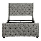 Greig Upholstered Panel Bed Size: California King