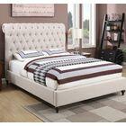 Jarratt Upholstered Panel Bed Size: Queen, Color: Beige