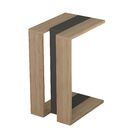 Sheridan Modern End Table Color: Oak/Anthracite