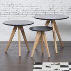 Garra 3 Piece Coffee Table Set Color: Black