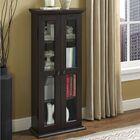 Wood DVD Multimedia Cabinet Color: Espresso