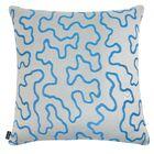 D�cor Squiggly Indoor/Outdoor Sunbrella Throw Pillow Size: 24
