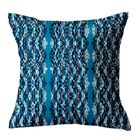Batik Throw Pillow Size: 20