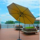 Eleonore Lighted 9' Market Umbrella Color: Beige
