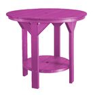 Patricia Bar Table Color: Purple