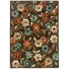 Newfield Brown/Ivory Indoor/Outdoor Area Rug Rug Size: Rectangle 6'7