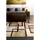 Honoray Huffing Brown/Gray Area Rug Rug Size: 5'3