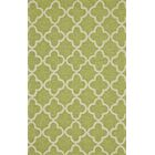 Hand-Tufted Green Outdoor Area Rug Rug Size: Rectangle 5' x 8'
