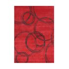 Wilderville Hand-Tufted Red Area Rug Rug Size: Rectangle 8' x 10'