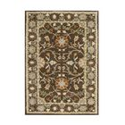 Anza Hand-Tufted Chocolate Brown Area Rug