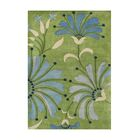 Stefansson Hand-Tufted Light Green Area Rug Rug Size: 5' x 8'
